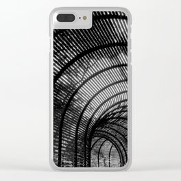 Lines Silhouette Clear iPhone Case
