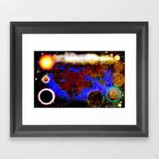 PANGEA - 106 Framed Art Print