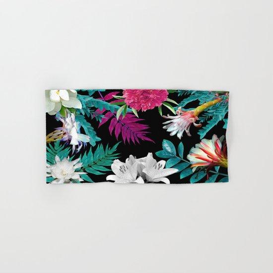 flowers pattern Hand & Bath Towel