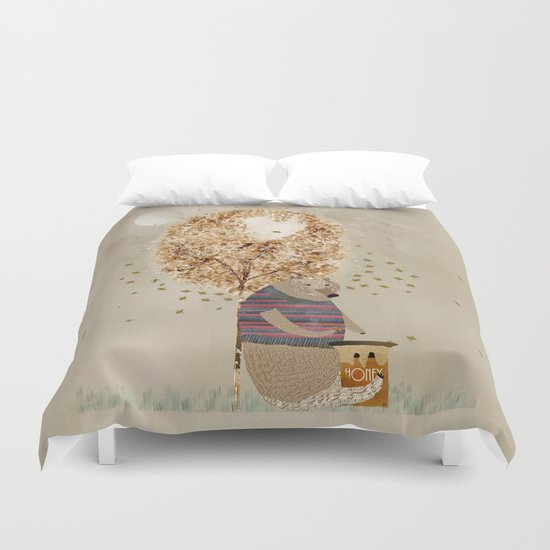 the honey tree Duvet Cover