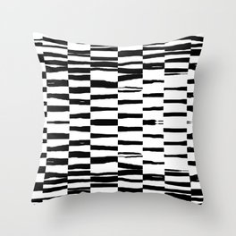 Break Hand Lines 01 Throw Pillow