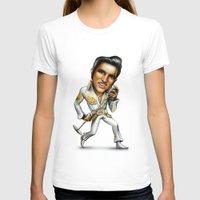 elvis presley T-shirts featuring Elvis Presley by sergo