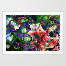 Psychedelic Persuasion Art Print