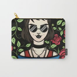 Goth Roses Carry-All Pouch