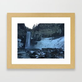 Ithica Gorges Taughannock Falls Framed Art Print