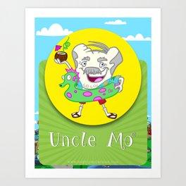 Uncle Mo Art Print
