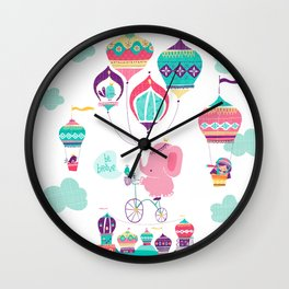 Greetings from India Wall Clock