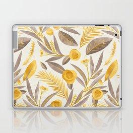 golden leaves Laptop & iPad Skin