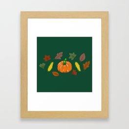 Fall #4 Framed Art Print