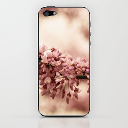 Red Bud Blooms iPhone Skin
