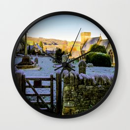 Beauty beyond the Gate  Wall Clock