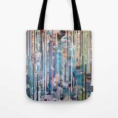 RIPPED STRIPES Tote Bag