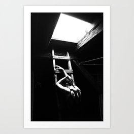 Out into The Dark Art Print