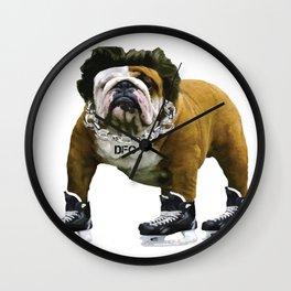 Flow Dog Wall Clock