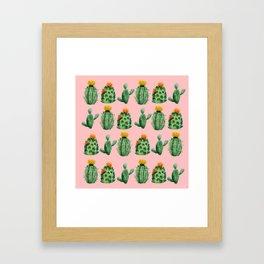 Cactus I Framed Art Print