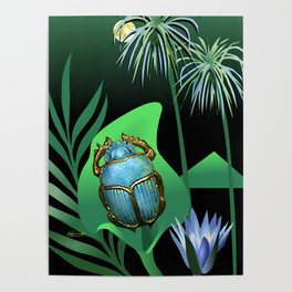 Night Of The Scarab Poster