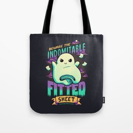 The Indomitable Fitted Sheet Tote Bag