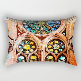 Barcelona, Sagrada Familia Rectangular Pillow