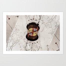 Waterhole Art Print