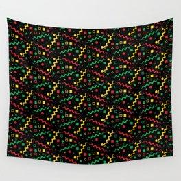 Retro Rasta Pattern Wall Tapestry