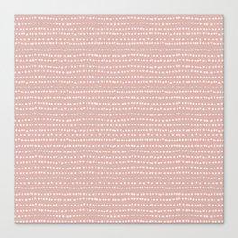 Cherry Blossom Stripe Canvas Print