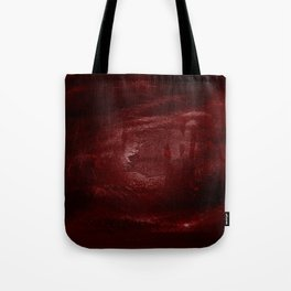Halloween. Bloody mess and hand traces. Creepy Tote Bag