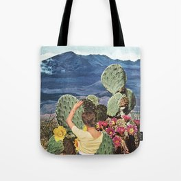 VIDA Tote Bag - cactus bloom by VIDA