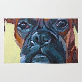 The Boxer Dog Lillibean Rug