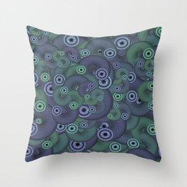 Slinky Eyes Throw Pillow