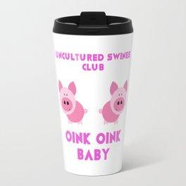 Uncultured Swines Club Travel Mug