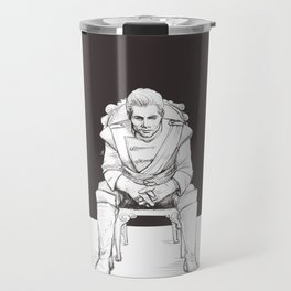 Cullen Rutherford, formal attire Travel Mug