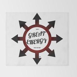 Great Energy Throw Blanket