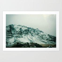 Ice Wall Art Print