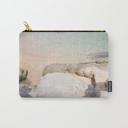 Travel photography print - sea view - clear water Carry-All Pouch