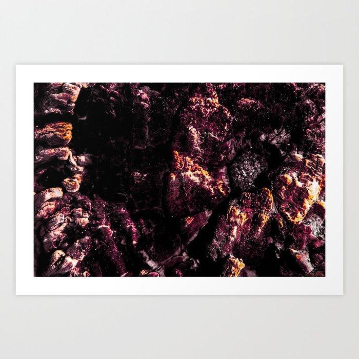 """Wood Burn"" Art Print"