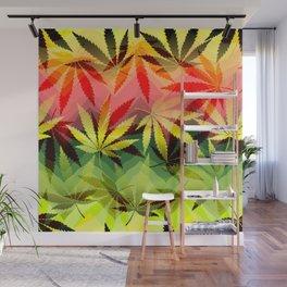 Marijuana Wall Mural