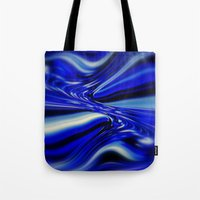 code Tote Bags featuring Code Blue by Chris' Landscape Images & Designs