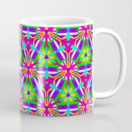 Girly Festival Geo - Geometric Pattern 2 Coffee Mug