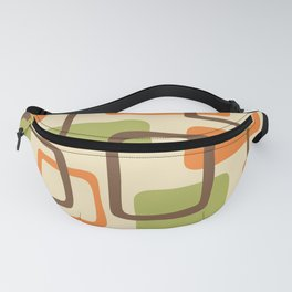 Mid Century Modern Abstract Squares Pattern 422 Fanny Pack