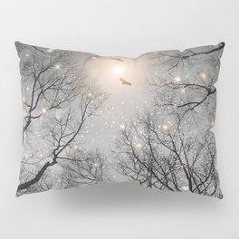 Nature Blazes Before Your Eyes 2 (Ash Embers) Pillow Sham