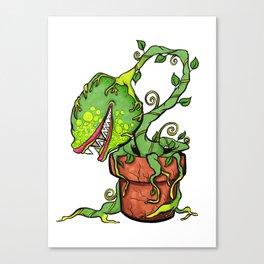 Killer Plant Venus Fly Trap Canvas Print