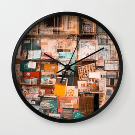 Collectibles Shop in Gent Wall Clock
