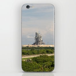 Rocket launch pad iPhone Skin