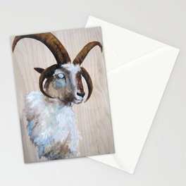 Four Horned Sheep Stationery Cards