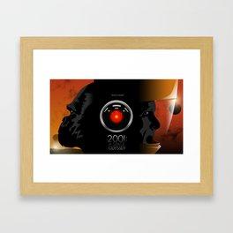2001 - A space odyssey Framed Art Print
