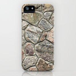 Stone texture iPhone Case