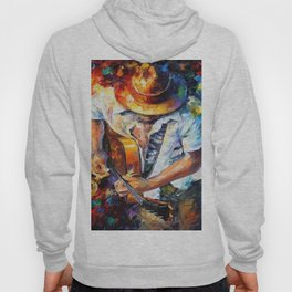 Music Love Guittar Hoody