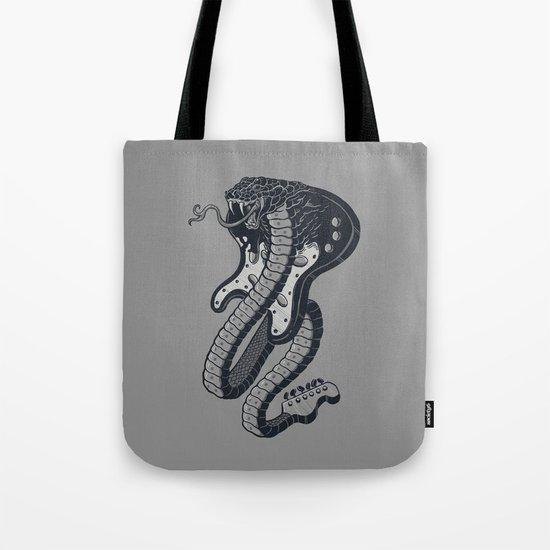 Snakeuitar Tote Bag