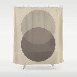 Geometric Composition V Shower Curtain
