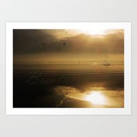 breathe Art Prints featuring Breathe by DebS Digs Photo Art